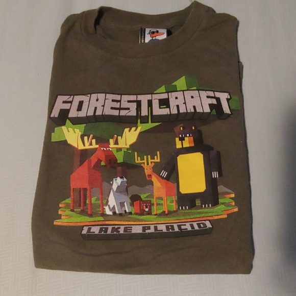 duck co Other - 3/$10 Boys Forestcraft Lake Placid T-Shirt - Large